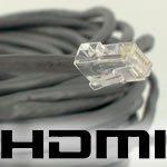 Foto af HDMI Extendere – send dit HDMI signal via netværkskabel