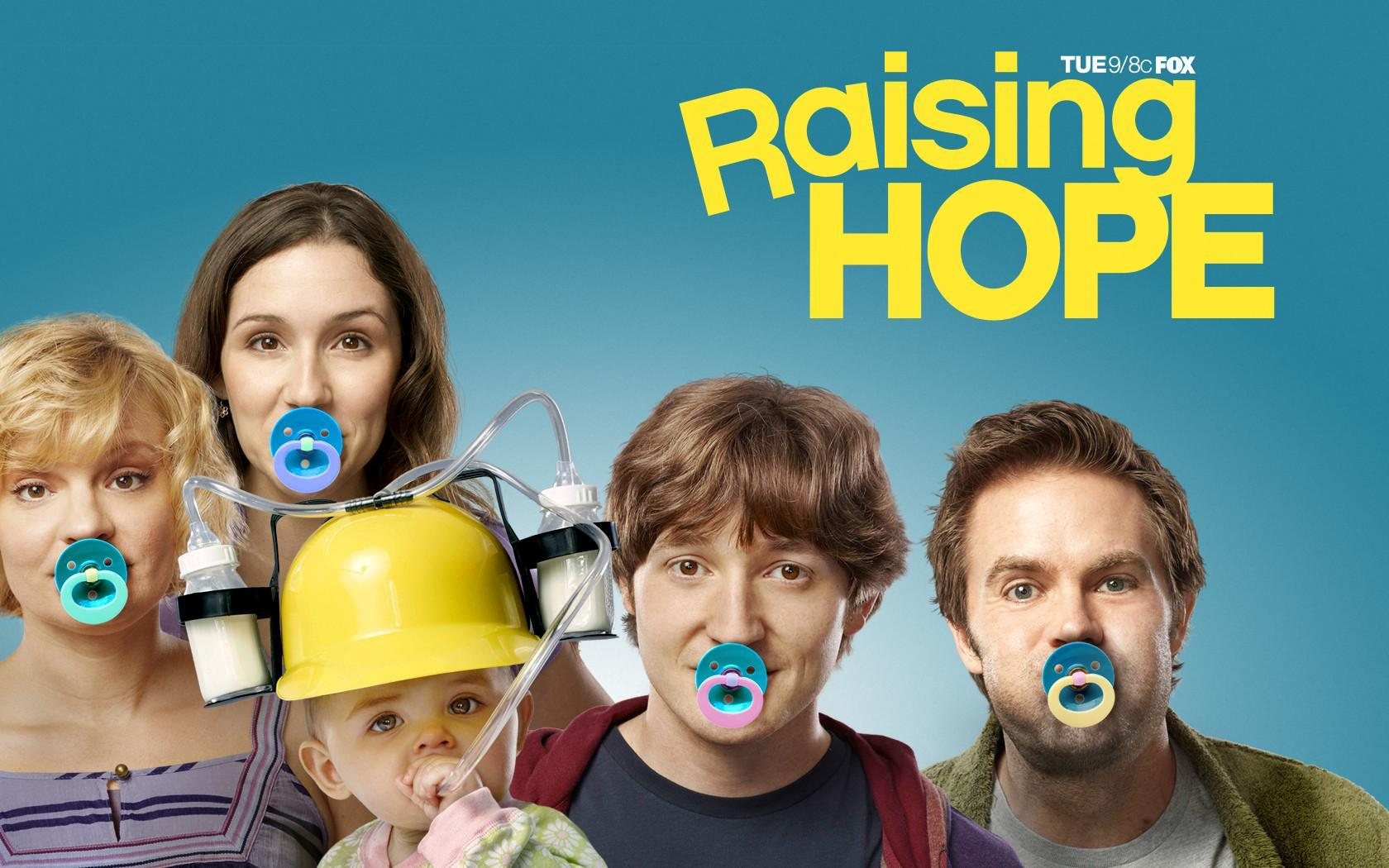 Raising Hope sæson 1–4 Disney