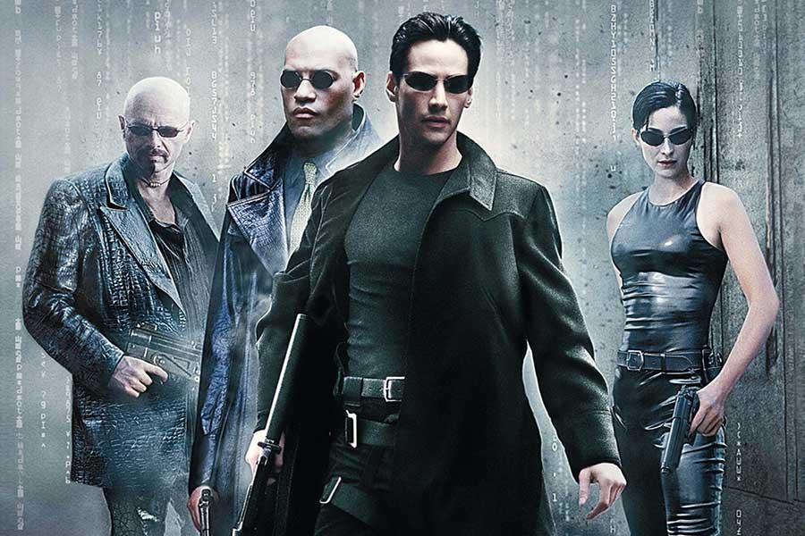 The Matrix x 3 C More