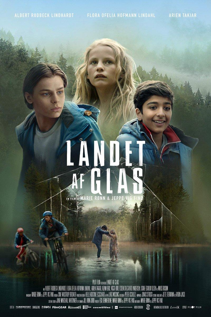 landet af glas plakat