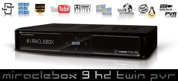 Miraclebox 9 Twin HD PVR test