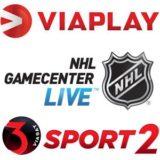 Foto af Viasat og Viaplay forlænger NHL rettigheder