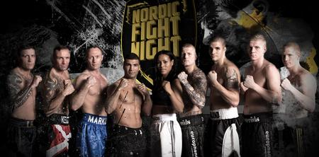 nordic fight night TV3+