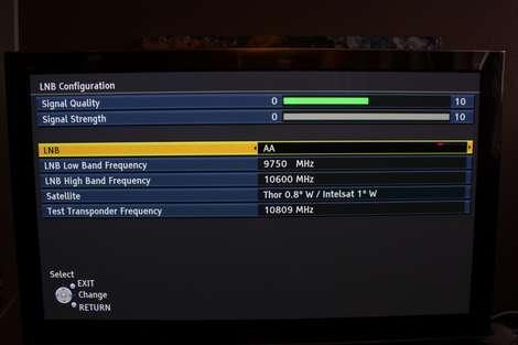 Panasonic VT20 og V20 har tuner for modtagelse af satellit-tv