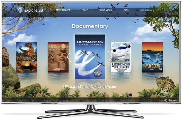 Samsung smart tv 3d app