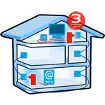 Sagemcom Fast Pack Multi hus