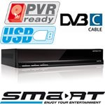 Smart CX72 kabel-tv modtager med USB PVR