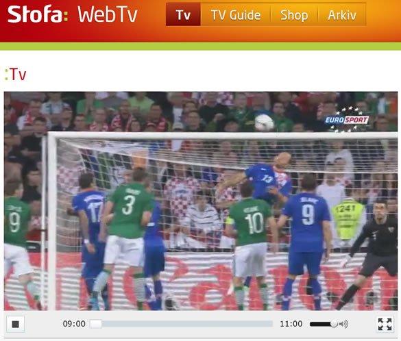 Stofa WebTV To Go Eurosport