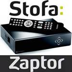 Stofa Zaptor  ny software Zaptor 2