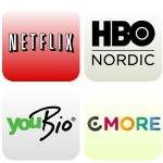 streaming tjenester YouBio HBo Nordic Netflix C More