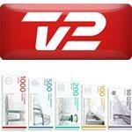 TV 2 priser 2012