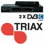 Triax-C-HD 237 DVB-C Twin
