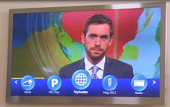 Mit TDC TV menu