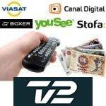 TV 2 betaling vil skade andre betalings-tv kanaler