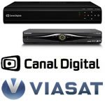 TV bokse til Canal Digital og Viasat via parabol