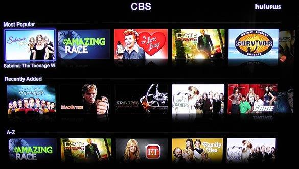 Hulu Plus CBS Apple TV
