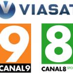 CANAL9 og CANAL8 Sport til Viasat kunder
