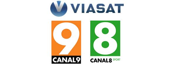 Canal9 og Canal8 hos Viasat