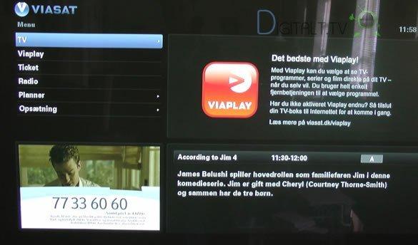 Viasat boks opdatering