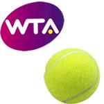 Foto af Caroline Wozniacki spiller finale på TV 2